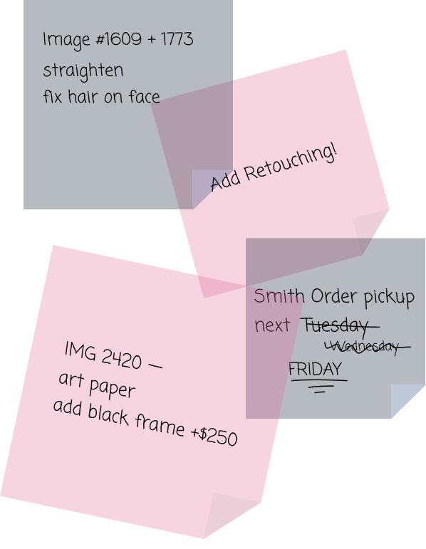 Keep image and order notes organized with N-Vu IPS